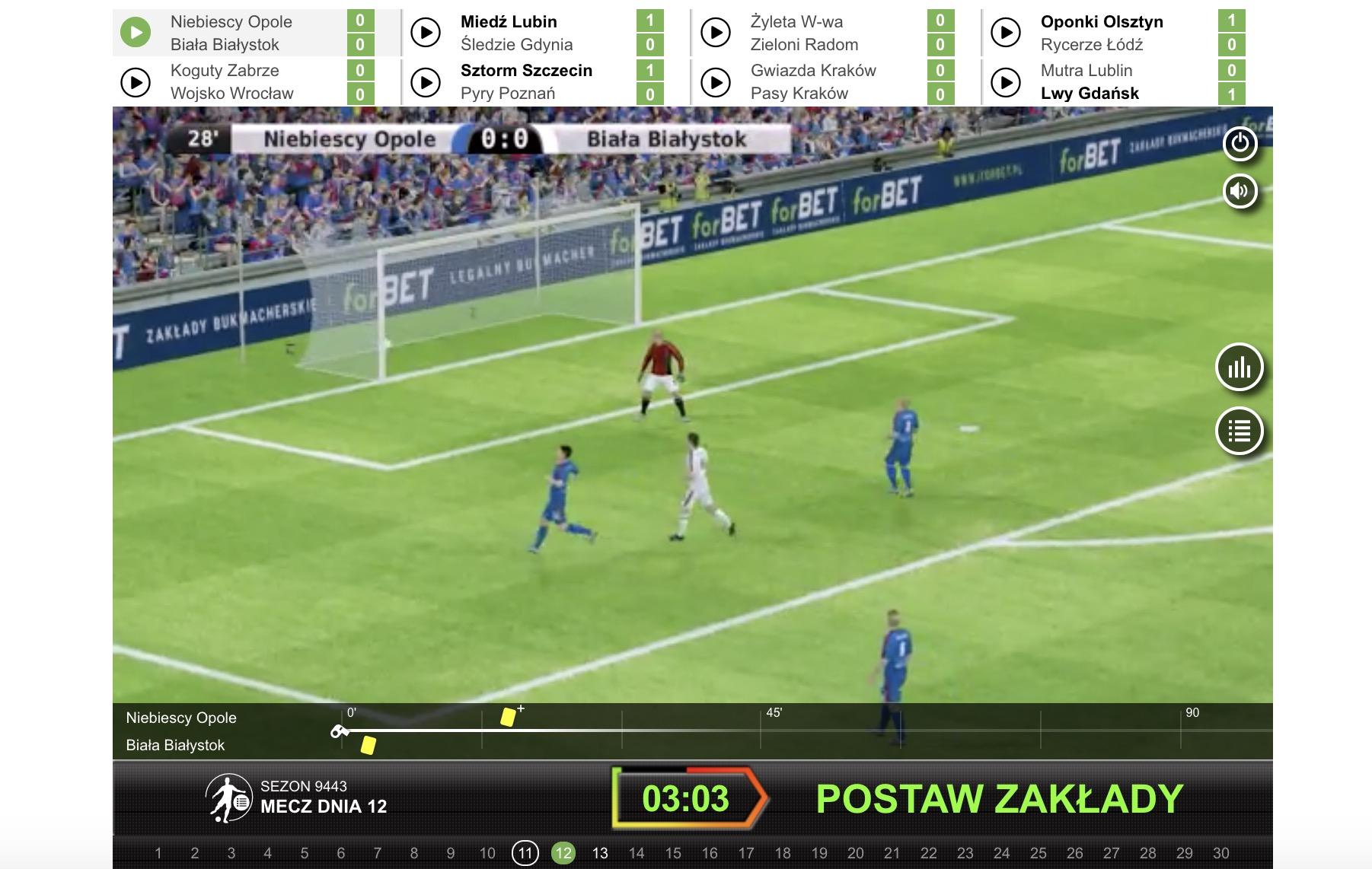 forbet wirtualne mecze