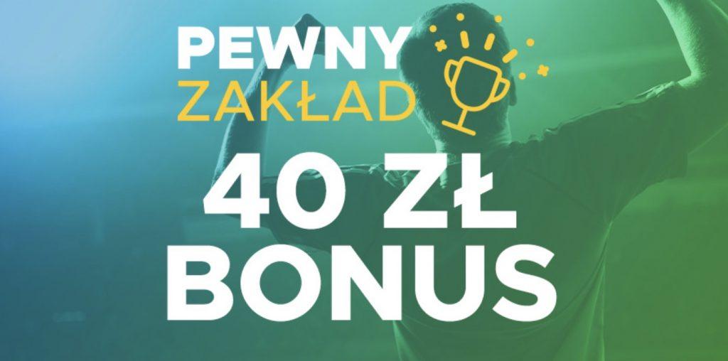 Betclic zwraca każdemu do 40 PLN!